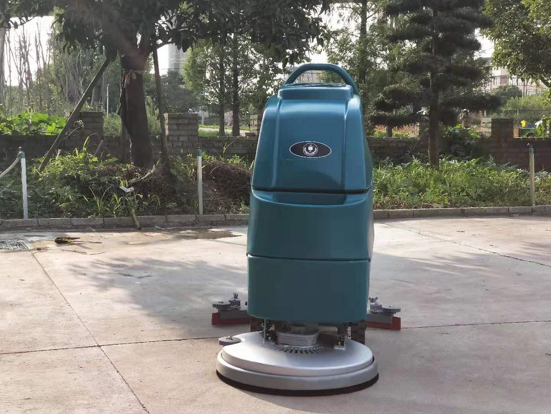 M3手推电瓶式洗地机,洁士M3手推式洗地机,手推式电动洗地机,电动手推式洗地机(3)