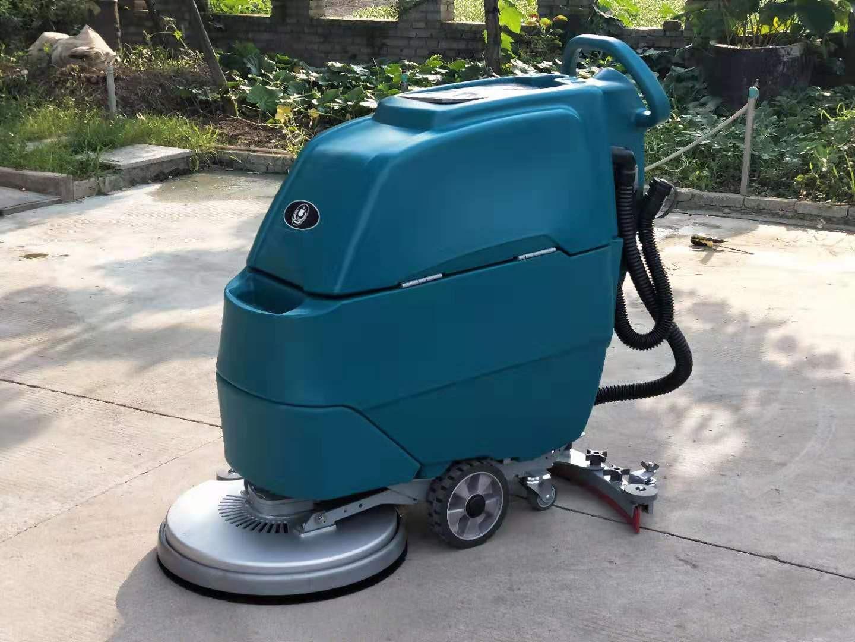 M3手推电瓶式洗地机,洁士M3手推式洗地机,手推式电动洗地机,电动手推式洗地机(5)