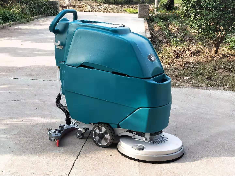 M3手推电瓶式洗地机,洁士M3手推式洗地机,手推式电动洗地机,电动手推式洗地机(6)