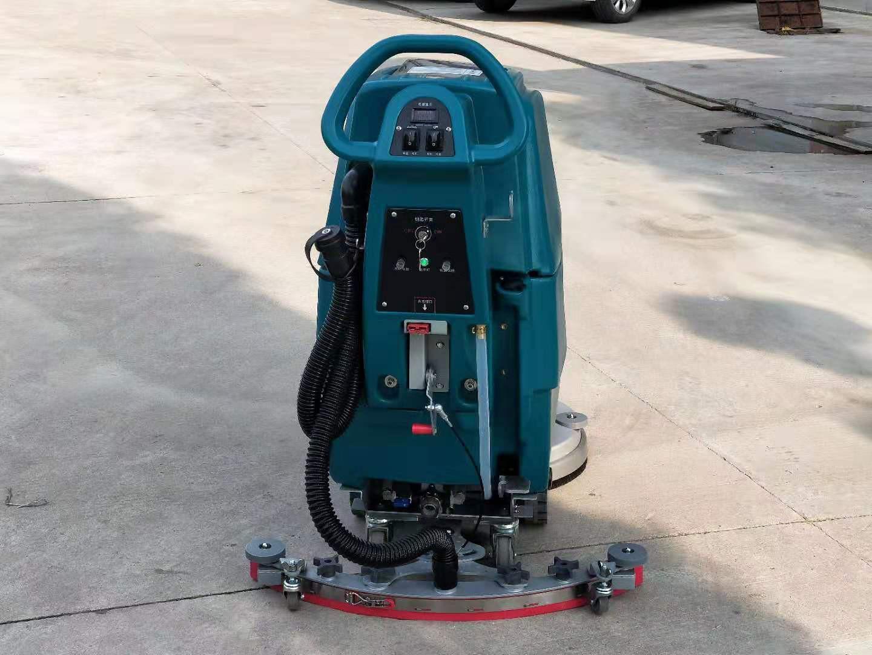 M3手推电瓶式洗地机,洁士M3手推式洗地机,手推式电动洗地机,电动手推式洗地机(8)