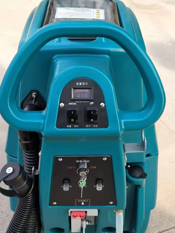 M3手推电瓶式洗地机,洁士M3手推式洗地机,手推式电动洗地机,电动手推式洗地机(9)