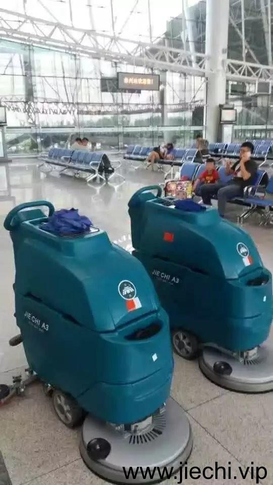 洁驰A3手推式洗地吸干机,洁驰洗地机,上海洁驰洗地机,洁驰洗地机厂家