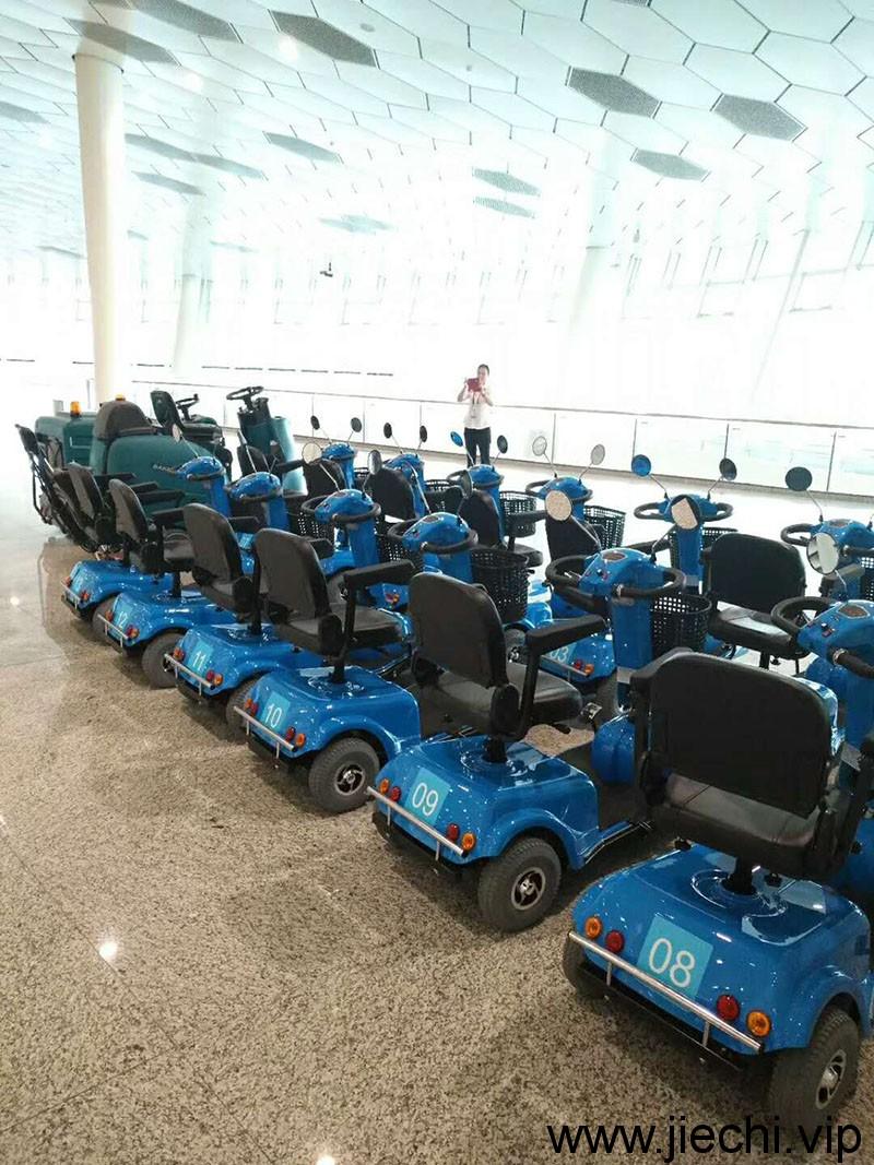宏丰棋牌手机下载:深圳国际机场BA850BT双刷驾驶式洗地机 BA900BT双刷驾驶式洗地机 洁驰BA900电动尘推车