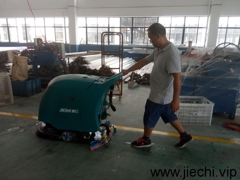 M1手推式洗地机,洁士洗地机,洁士手推式洗地机,洁士电动洗地机,洁士洗地吸干机