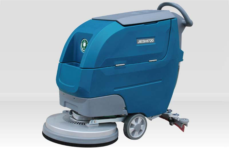 洁士AM720TM手推式洗地机,洁士电动洗地机,洁士电动洗地车